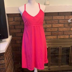 Athleta Pink Shorebreak Dress Swim Large